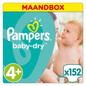 luiers maat 4 plus pampers