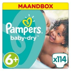 luiers maat 6 plus pampers